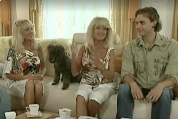 Татьяна, Елена и Алексей. 2012 год.