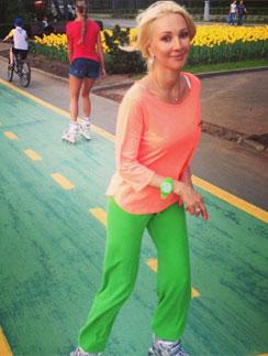 Лера Кудрявцева - девушка спортивная и любит активный образ жизни