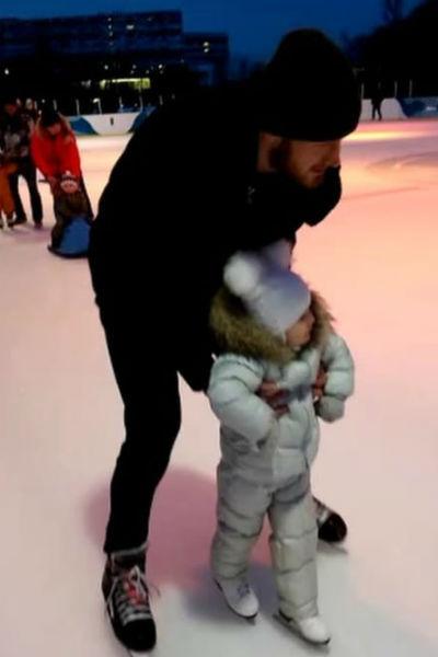 По мнению фанатов, Телегин хочет, чтобы дочь выросла спортсменкой