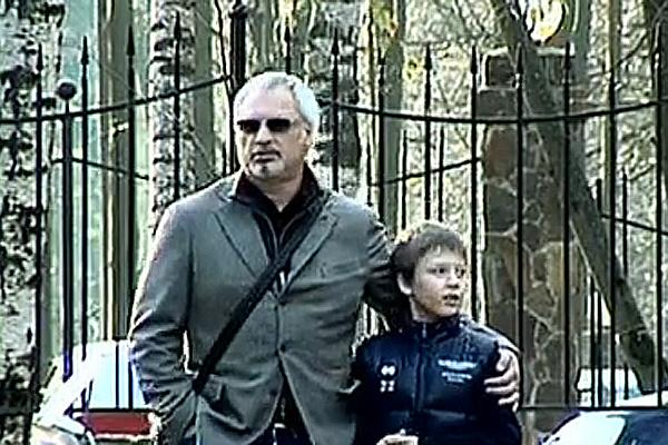 Валерий Меладзе с сыном Костей