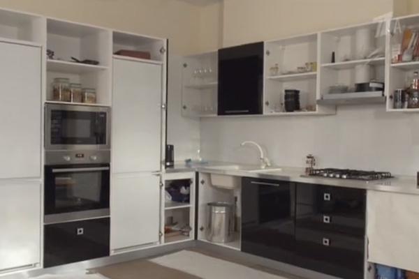 Актрисы пока оборудовали только кухню
