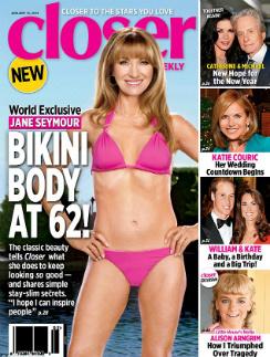 Актриса Джейн Сеймур на обложке британского журнала