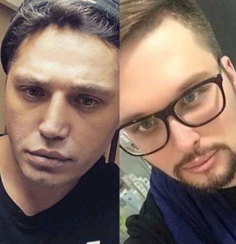 Рустам Солнцев и Егор Холявин