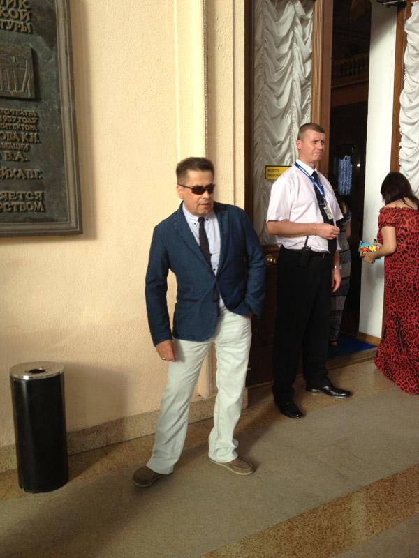На мероприятии был замечен и певец Николай Расторгуев