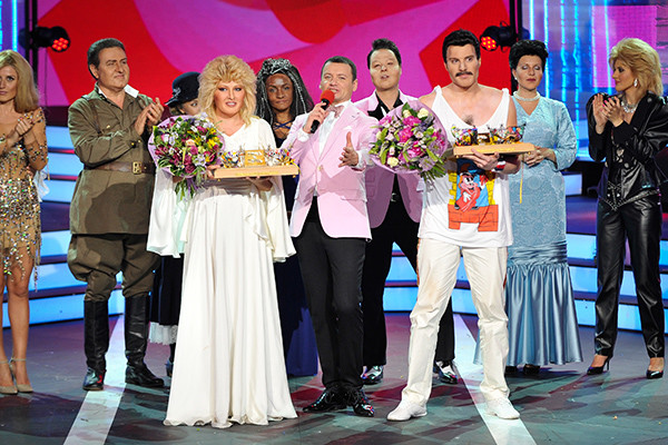Ирина Дубцова и Никита Пресняков с наградами