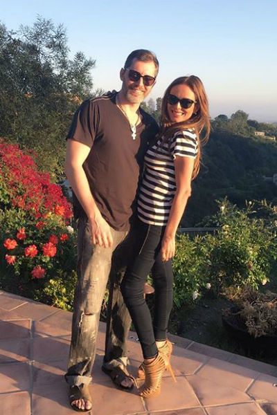 Юлия Началова и Александр Фролов  наслаждаются романтикой