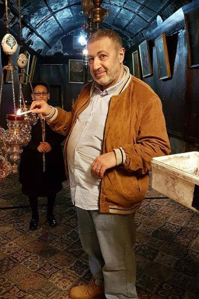 Михаил Хачатурян часто общался со звездами