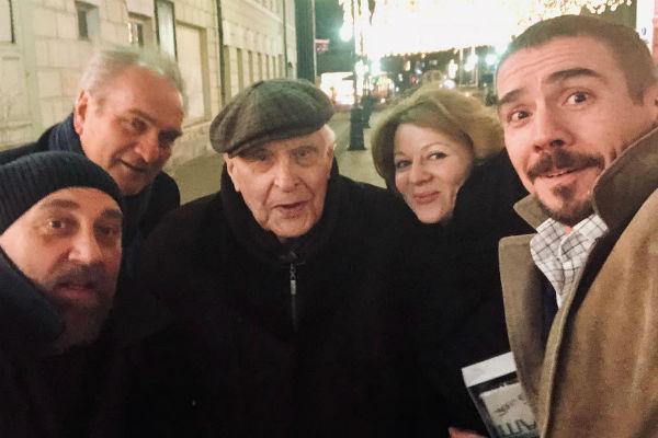 Олег Басилашвили — настоящая легенда театра и кино