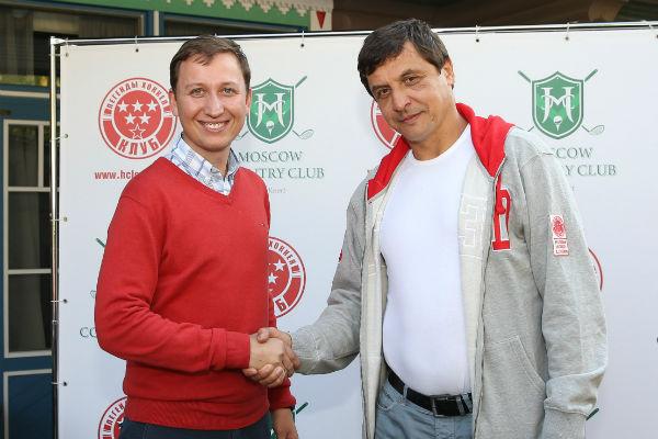 Андрей Крупорушников с Валерием Каменским