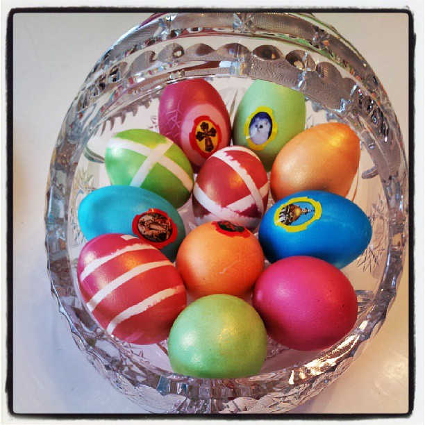 Пасхальные яйца Ольги Гажинеко