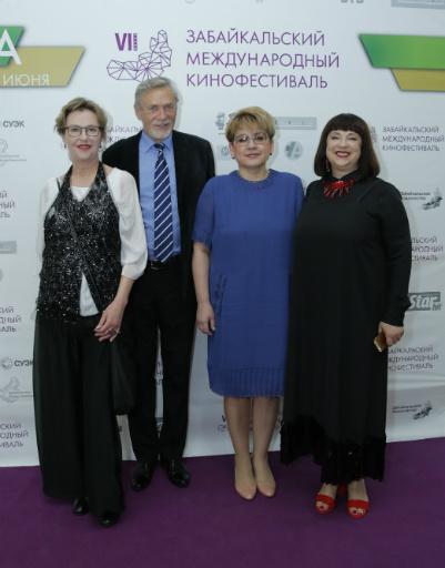 Елена Михайлова, Наталья Жданова, Александр Михайлов и Ирина Розанова