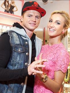 Дмитрий Тарасов с женой Ольгой Бузовой