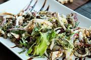 Салат из кальмаров и куриного филе