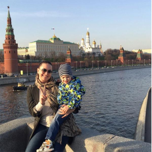 Наталья Фриске с внучатым племянником