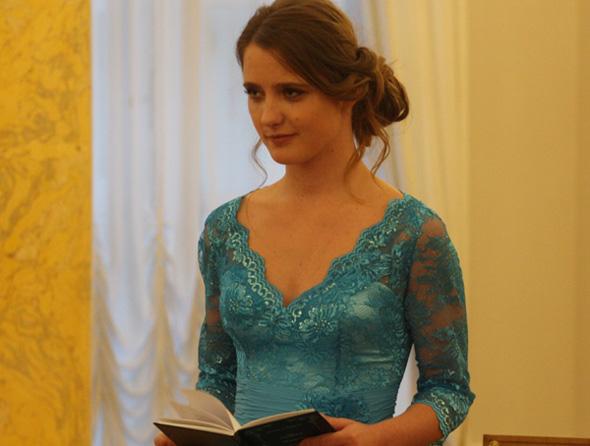 Наталья Краско удивила гостей вечера чтением своих стихов