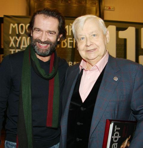 Владимир Машков и Олег Табаков