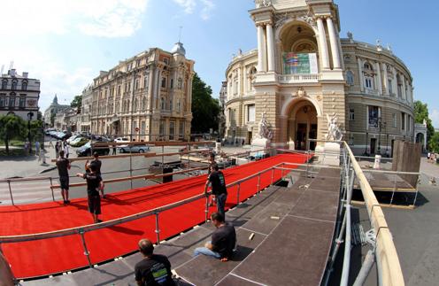 К открытию Одесского кинофестиваля все готово