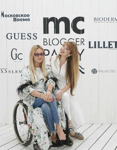 Ксения Безуглова и Юлия Шурмелева