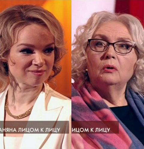 Виталина Цымбалюк-Романовская и Татьяна Власова