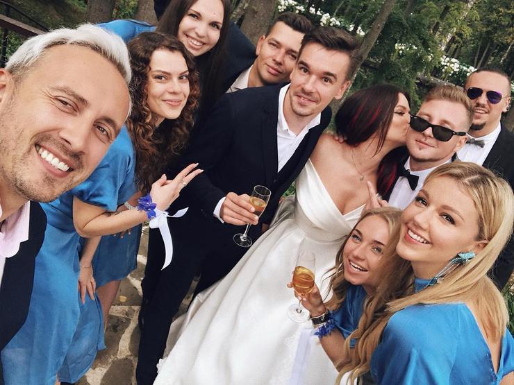 На свадьбе Бьянки присутствовала Юлианна Караулова