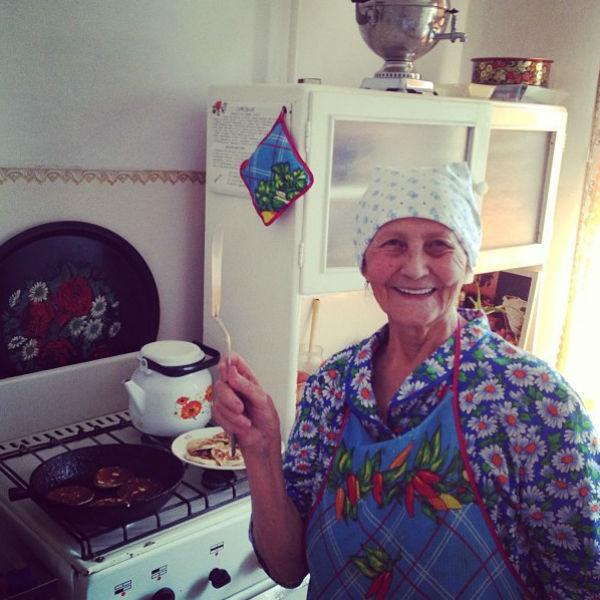 «Блинчики от моей бабушки. Лучшие!» - сообщила Ирина