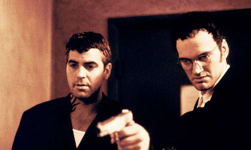 Джордж Клуни и Квентин Тарантино