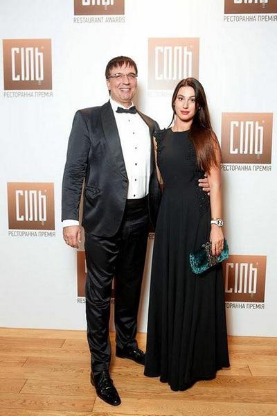 Сергей Коваленко с нынешней женой Сюзанной