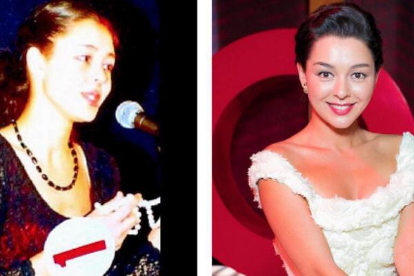 Марина Кравцева в 2005 и 2017-м