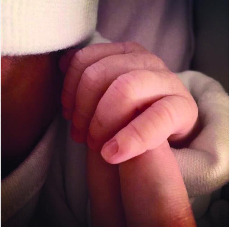 О том, что артистка родила дочь, стало известно 22 августа 2017-го