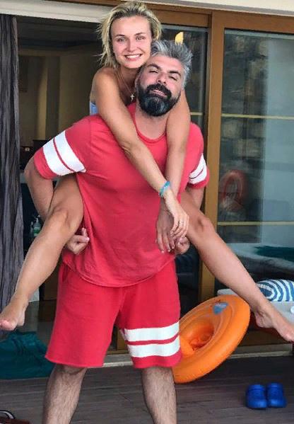 Полина Гагарина с мужем Дмитрием Истраховым