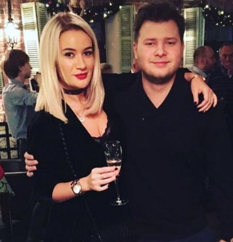 Елена Бушина и Митя Железняк