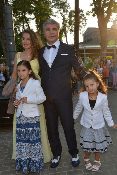 Сосо Павлиашвили боготворит жену и детей
