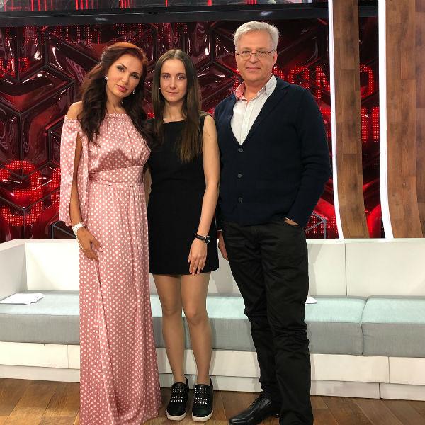 Эвелина Бледанс, Анна Попова и Юрий Стыцковский