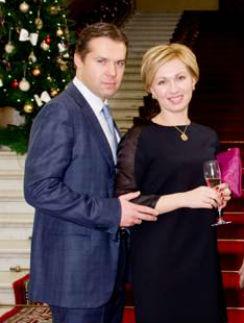 Ирина Володина с мужем Алексеем