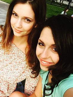 Дарья Канануха и Анжелика Кутний вместе были на пикнике