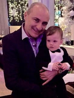Михаил Турецкий с внуком Ванечкой
