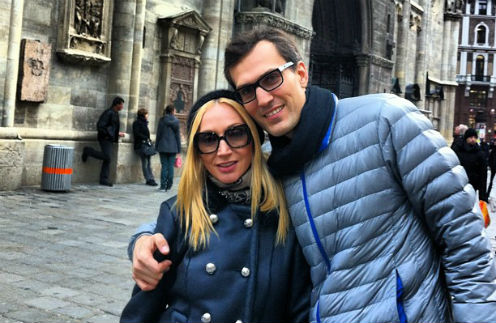 Кристина Орбакайте и Михаил Земцов отдыхают в Вене