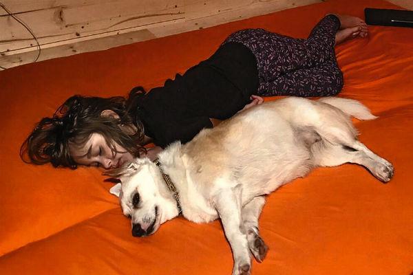 У дочери Носкова есть любимая собака