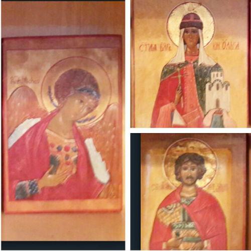 Иконы, написанные Марией