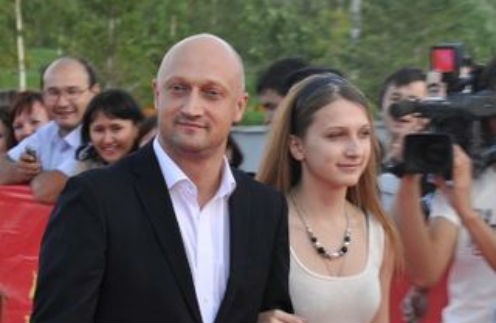 Гоша Куценко с дочкой Полиной