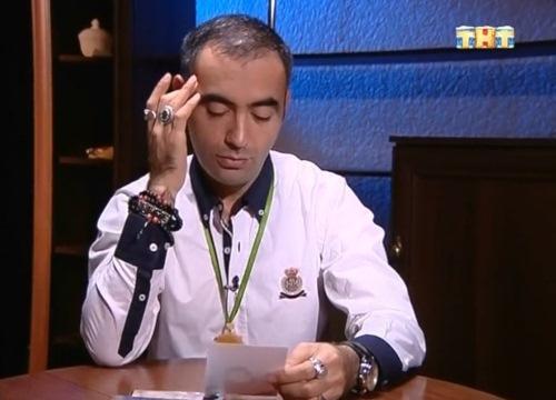 """Зираддин Рзаев в шоу """"Битва экстрасенсов"""""""