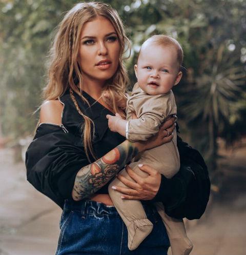 Рита с дочкой Мией