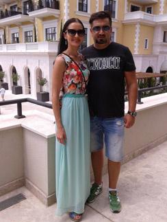 Александр и Ирина Айвазовы провели в Черногории две недели