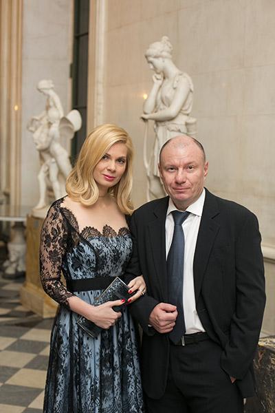 Владимир Потанин и его новая жена Екатерина