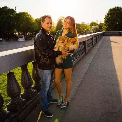 Вадим Казаченко и Ольга Мартынова сыграли свадьбу в 2014 году