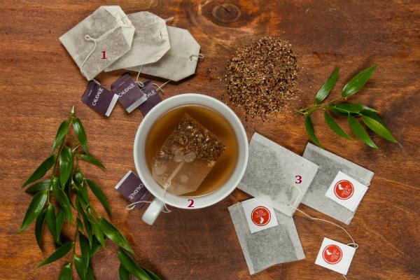 1. Caudalie Чай фруктовый травяной, 460 руб. 2. Aveda Травяной чай, цена по запросу. 3. Julius Meinl Чай черный, зеленый и фруктовый, 200 руб. (цена за упаковку)