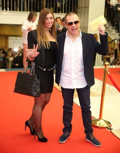 DJ Грув с женой