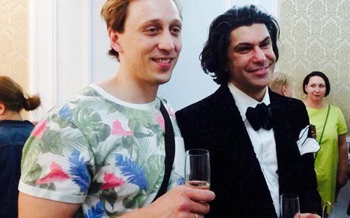 Павел Дмитриченко и Николай Цискаридзе