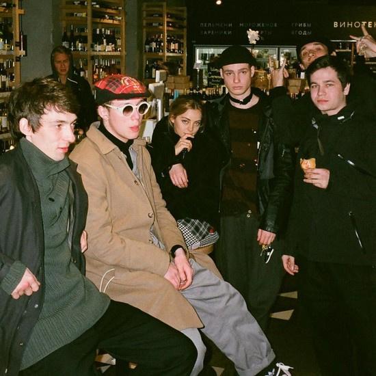 Катя Кищук с Иваном и его друзьями