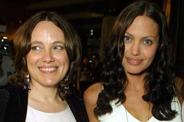 Анджелина Джоли с матерью Маршелин Бертран